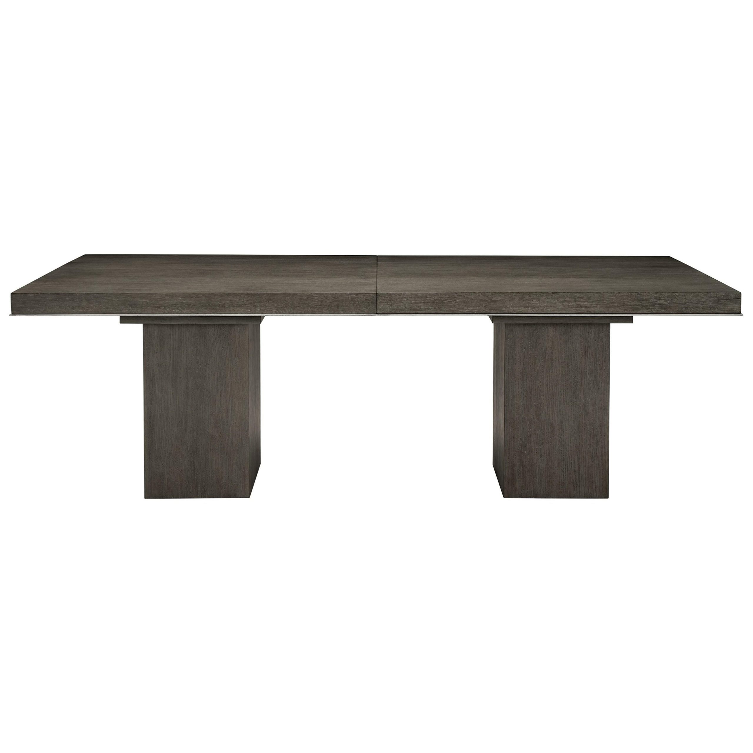 Bernhardt Linea Transitional Rectangular Dining Table With In 2017 Charcoal Transitional 6 Seating Rectangular Dining Tables (View 19 of 30)