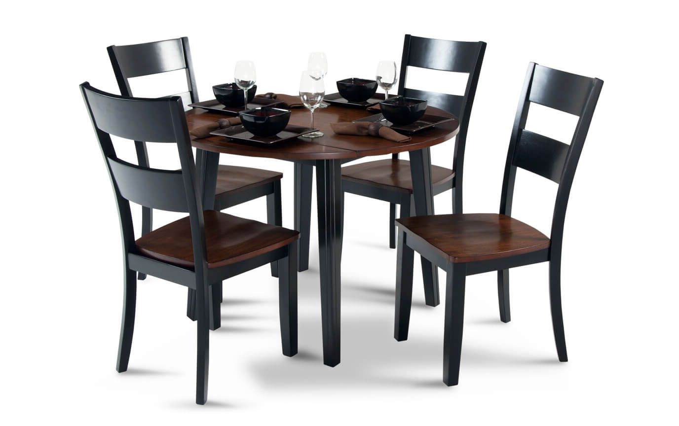 Best And Newest Atwood Transitional Square Dining Tables Regarding Blake 5 Piece Drop Leaf Set (View 11 of 30)