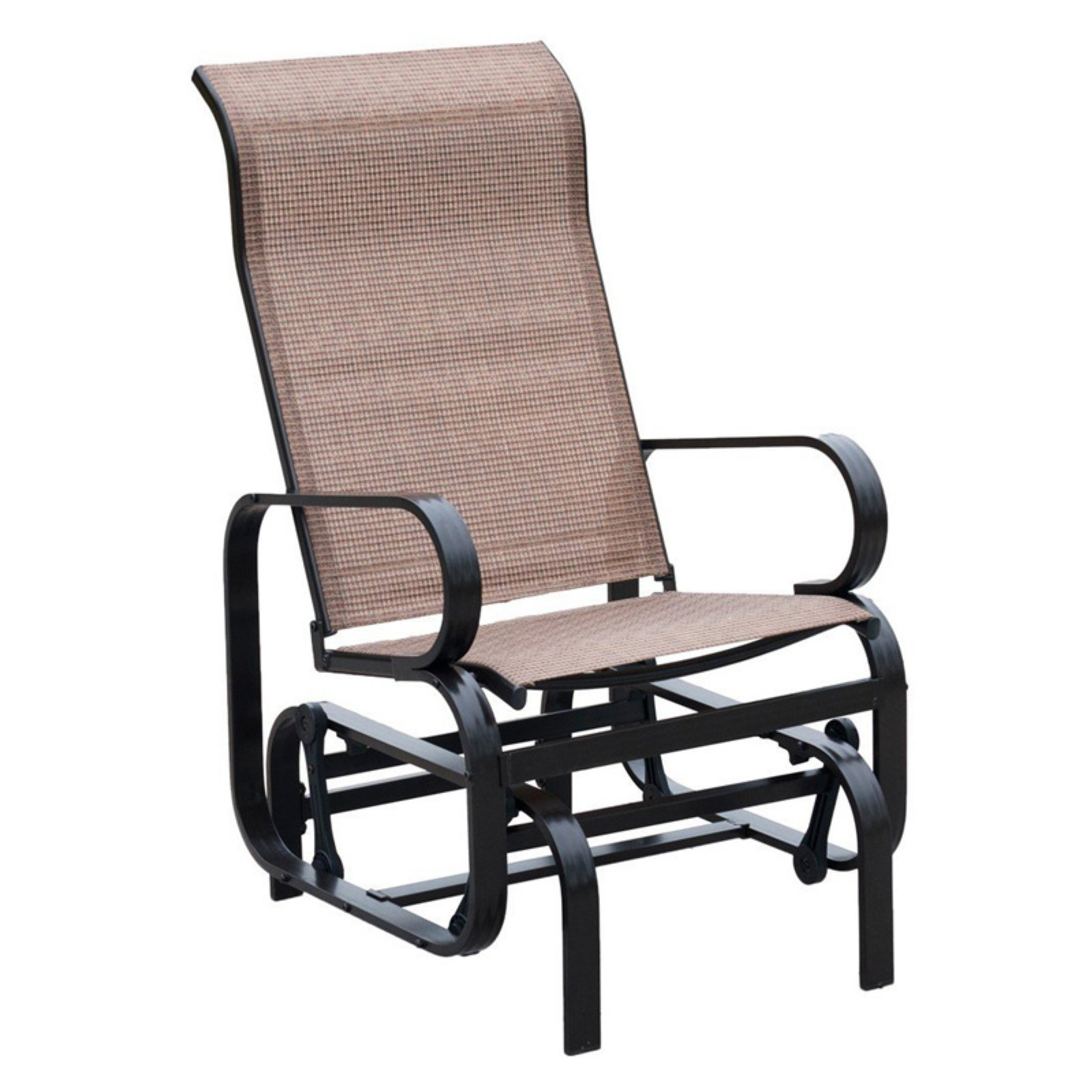 Best And Newest Chair Double Bates Crosley Swing Sofa Home Swivel Rocker In Outdoor Patio Swing Glider Bench Chair S (View 13 of 30)