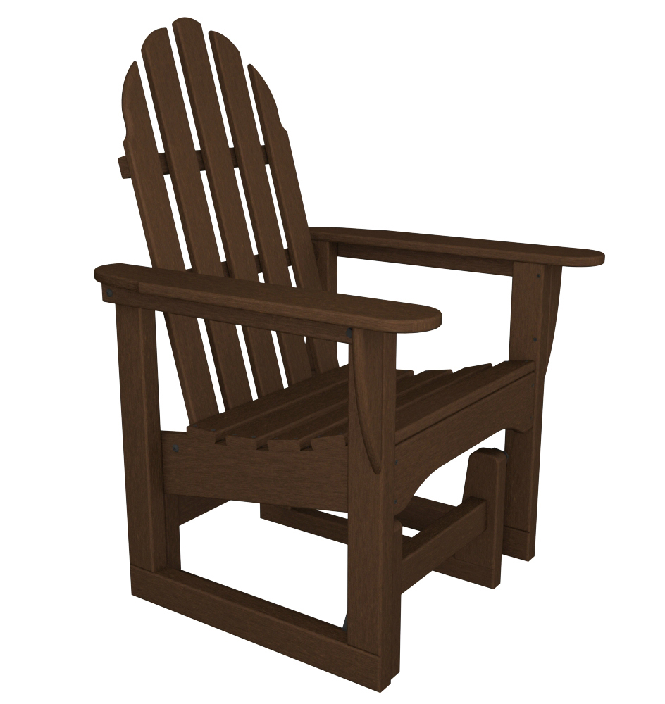 Best And Newest Classic Adirondack Glider Chair For Classic Adirondack Glider Benches (Gallery 9 of 30)
