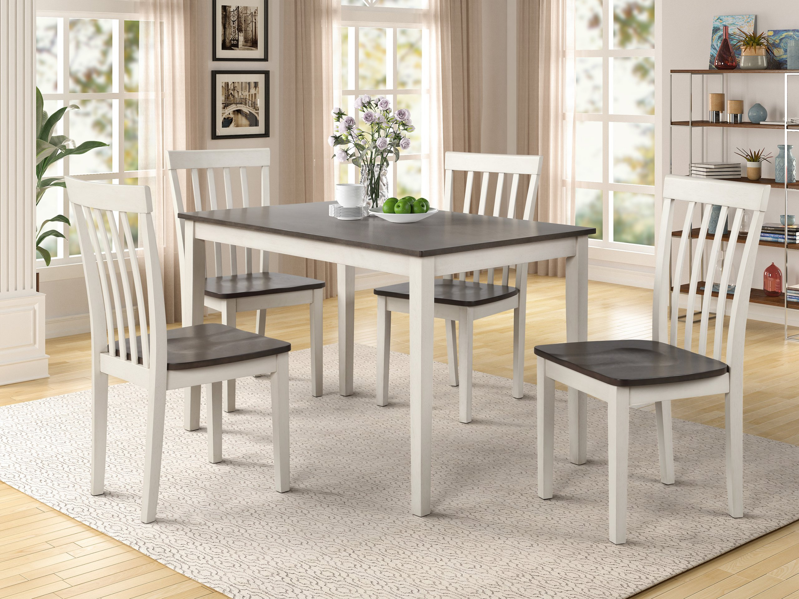 Best And Newest Distressed Grey Finish Wood Classic Design Dining Tables Inside Furniture Clearance Center (View 29 of 30)