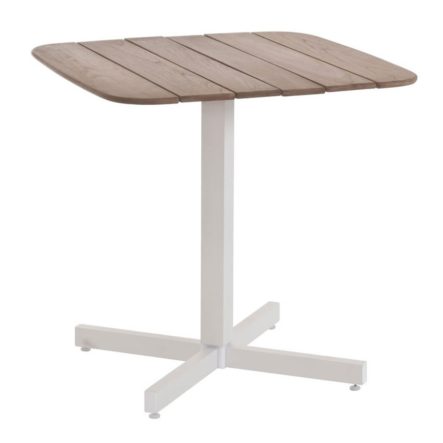 Best And Newest Emu Shine Square Table Wooden Dining Table, Bar (View 23 of 30)