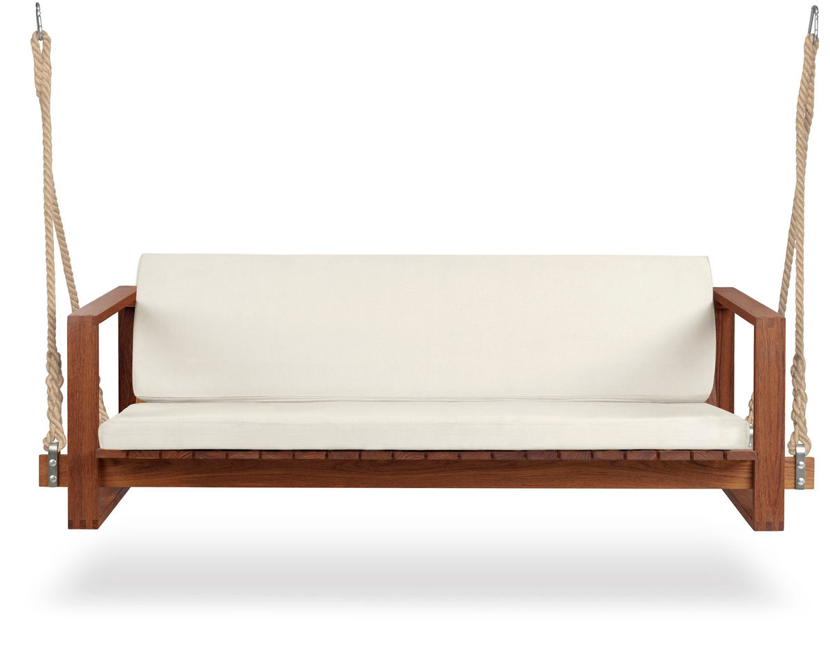 Bk13 Swing Sofa – Hivemodern In Current Teak Porch Swings (View 18 of 30)