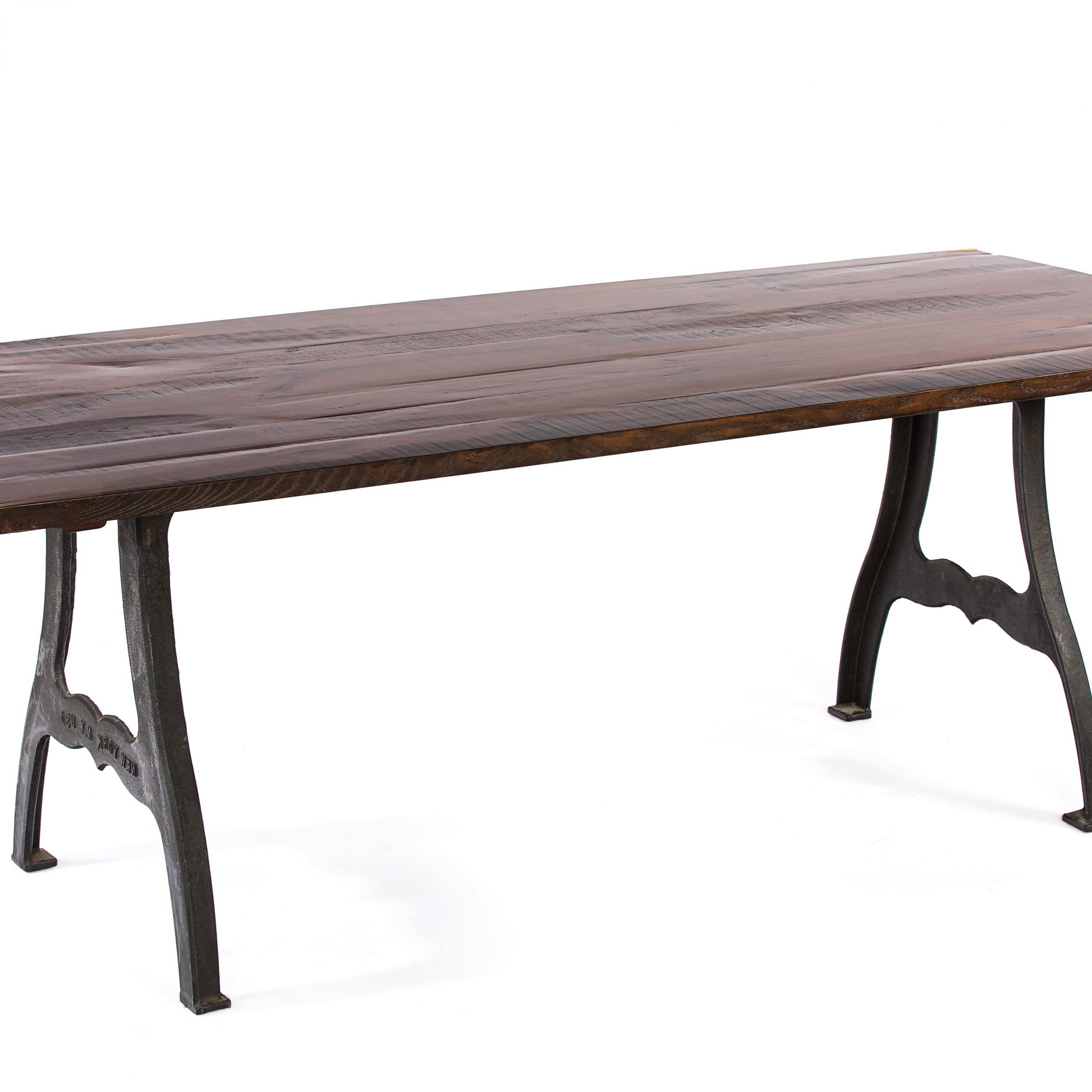 Buy A Hand Crafted The Williamsburg Reclaimed Wood Dining With Regard To Latest Dining Tables With Stained Ash Walnut (Gallery 9 of 30)