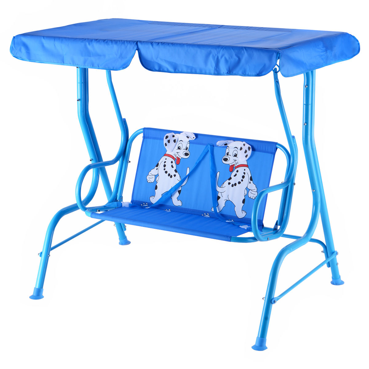 Canopy Porch Swings For Most Up To Date Outdoor Kids Patio Swing Bench With Canopy 2 Seats (Gallery 21 of 30)