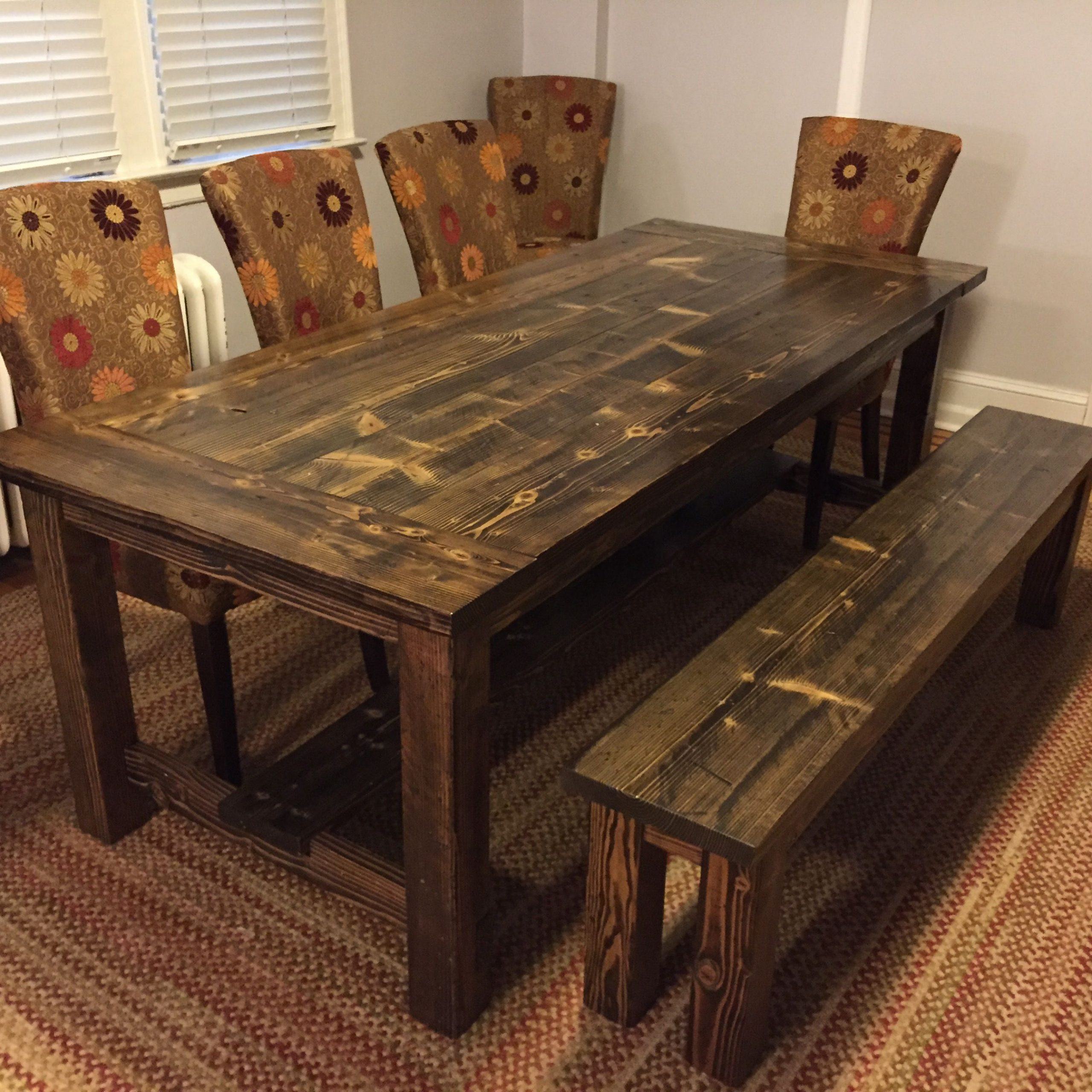 Cascade Canyon Farmhouse Table (View 4 of 30)