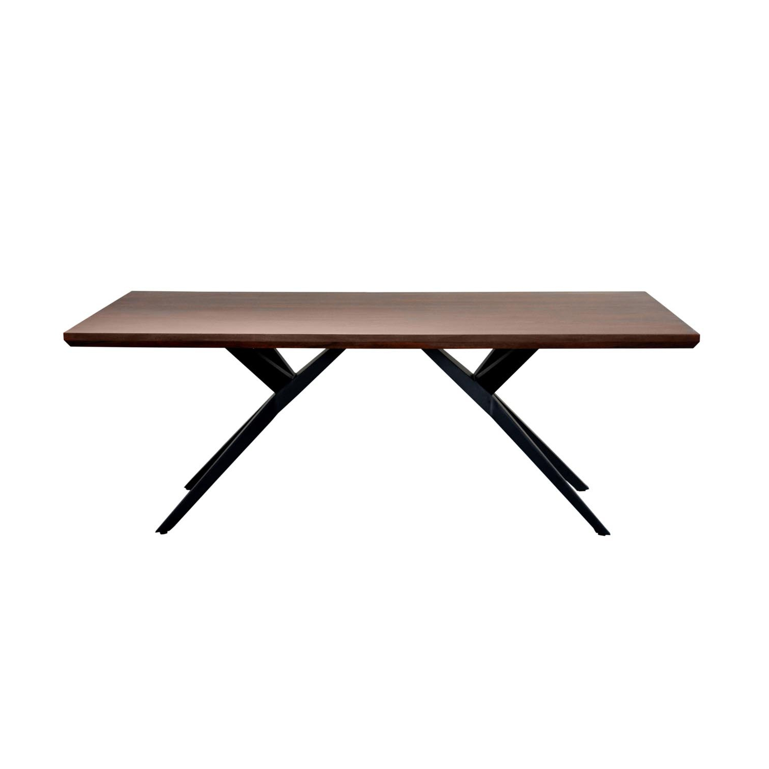 Featured Photo of Acacia Wood Dining Tables With Sheet Metal Base
