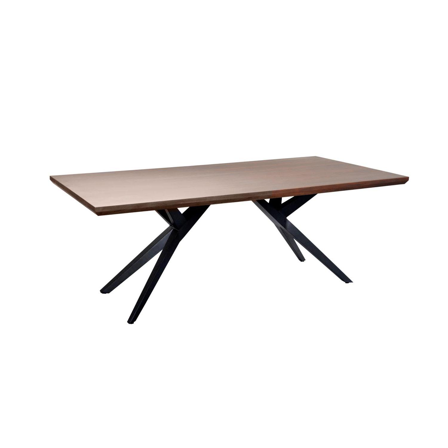 Cdi Furniture Pertaining To Acacia Wood Dining Tables With Sheet Metal Base (View 4 of 30)