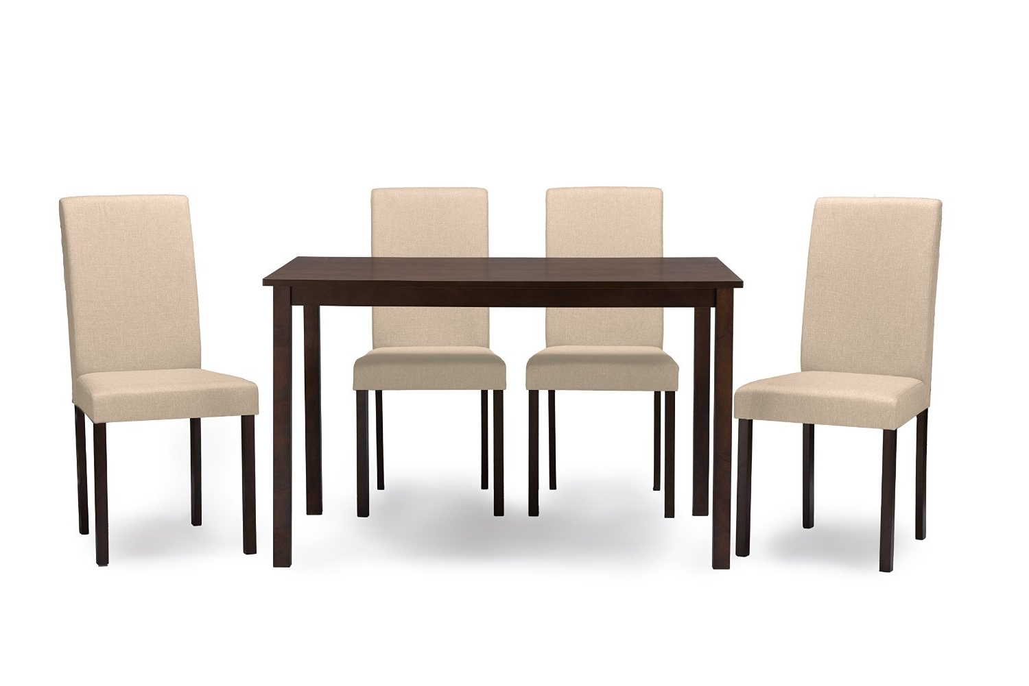 Cheap Contemporary Dining Set, Find Contemporary Dining Set Within Best And Newest Espresso Finish Wood Classic Design Dining Tables (View 4 of 30)