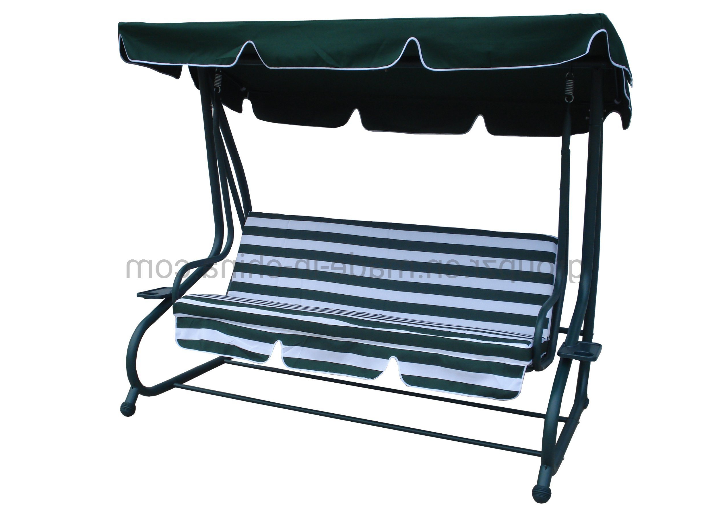 China Outdoor Garden Furniture Hammock Patio Deluxe Swing Pertaining To Famous Garden Leisure Outdoor Hammock Patio Canopy Rocking Chairs (View 19 of 30)