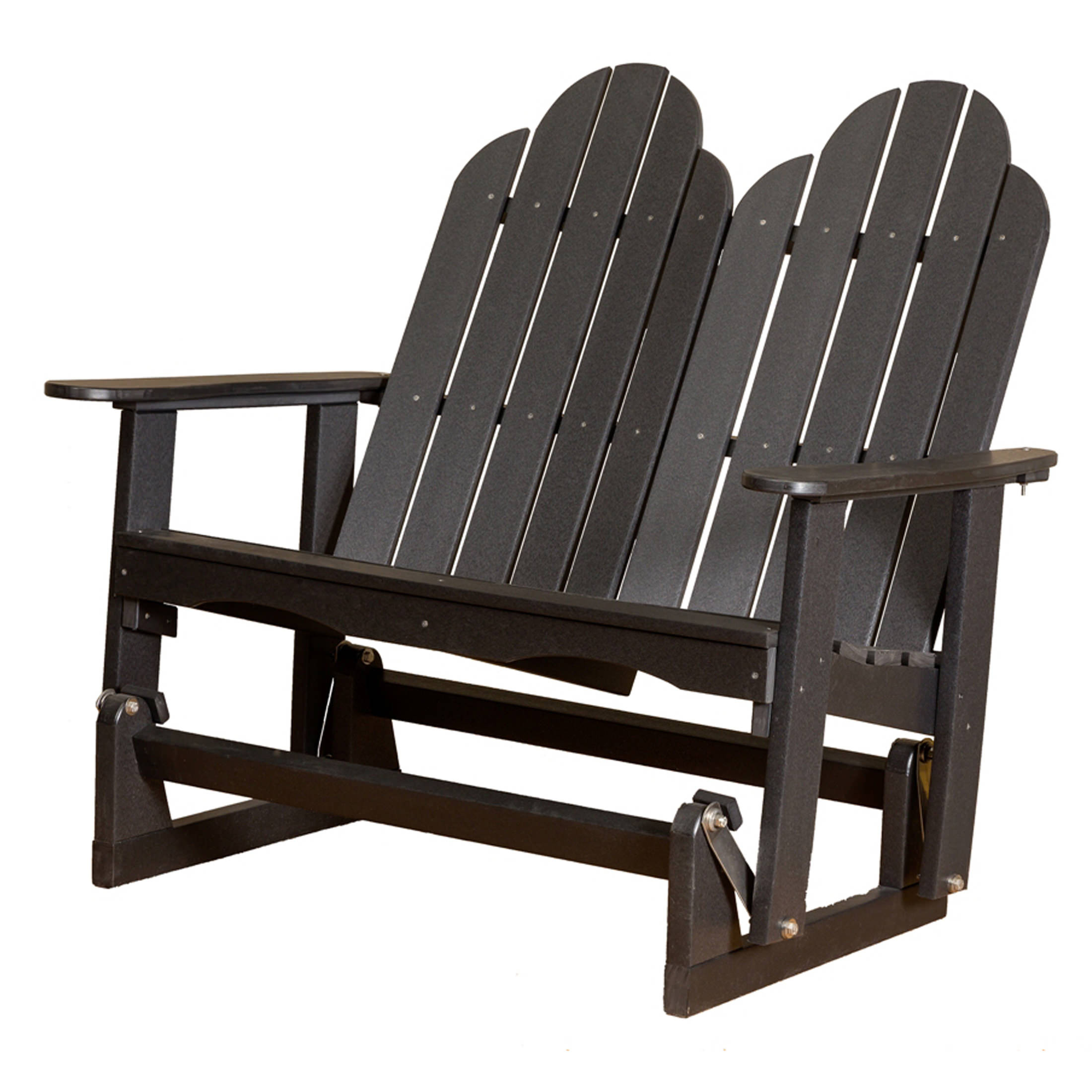 Classic Adirondack Glider Benches With Regard To Newest Little Cottage Classic Adirondack Glider (Gallery 18 of 30)