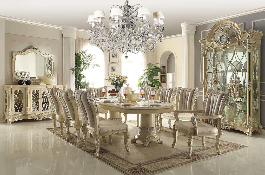 Classic Dining Throughout Elegance Large Round Dining Tables (View 22 of 30)