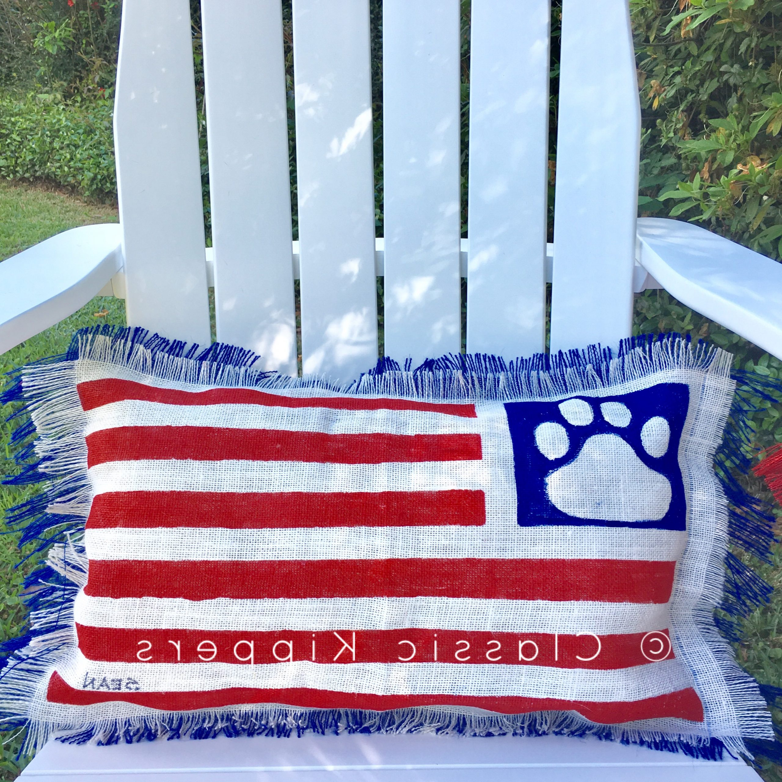 Classic Kippers Pertaining To American Flag Porch Swings (View 15 of 30)