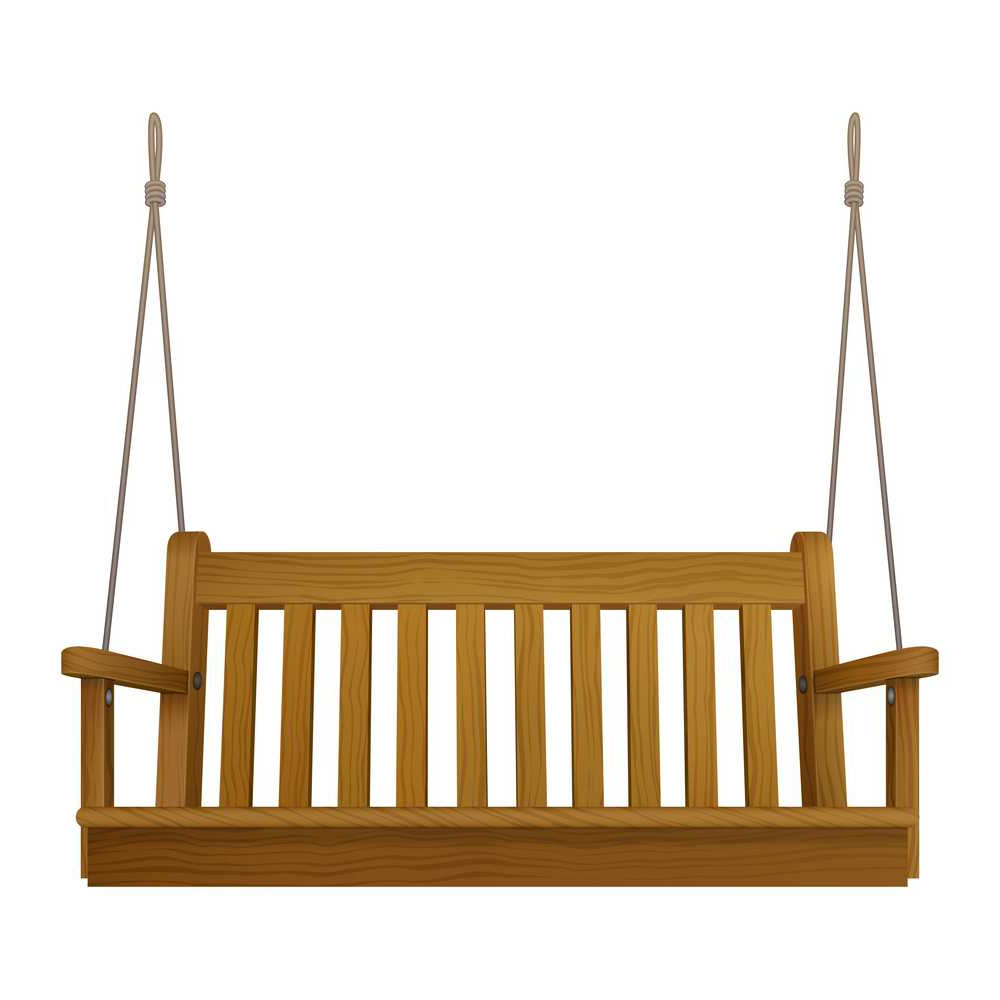 Classic Outdoor Garden Wooden Hanging On Frame Porch Swing Bench Furniture Regarding Famous Patio Gazebo Porch Swings (Gallery 21 of 30)