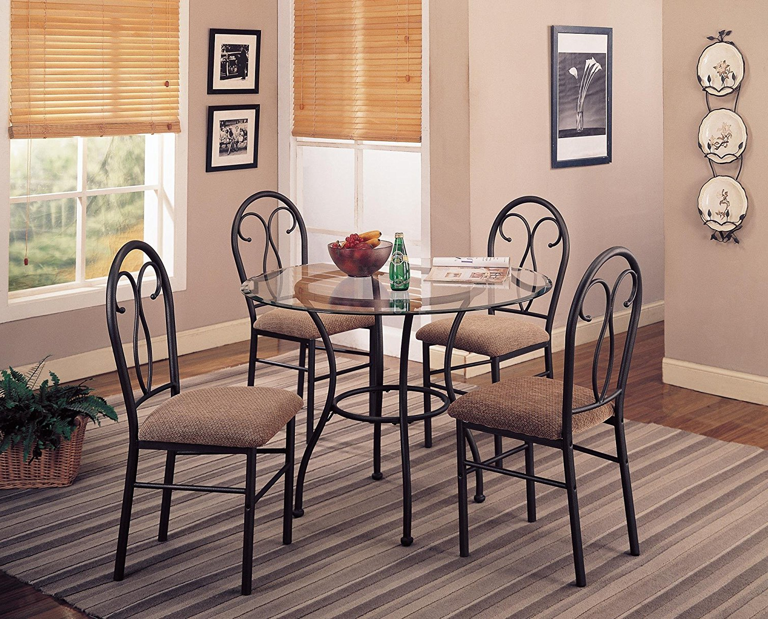 Coaster Contemporary 6 Seating Rectangular Casual Dining Tables In Best And Newest Cheap Coaster Dining Chairs, Find Coaster Dining Chairs (View 5 of 30)