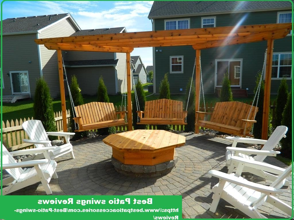 Comfortable And Luxurious Patio Within Best And Newest Patio Hanging Porch Swings (Gallery 22 of 30)
