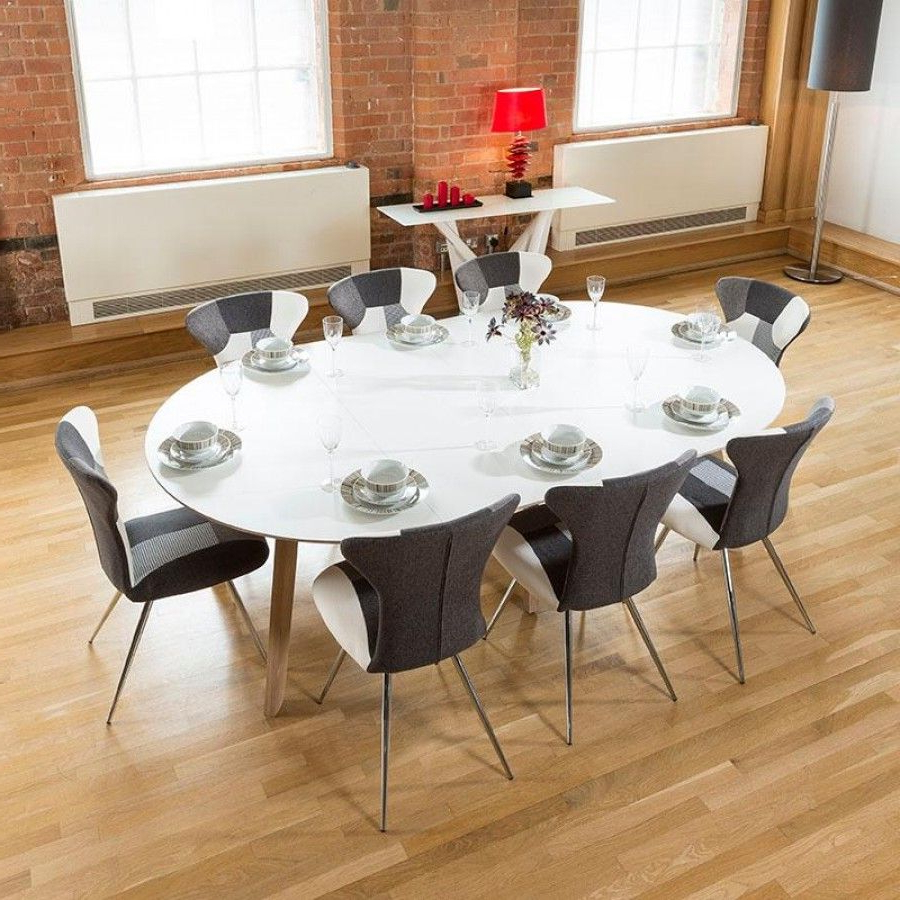 Contemporary 4 Seating Oblong Dining Tables For Trendy Pinstom On Living Dining Et Voila! (View 5 of 30)