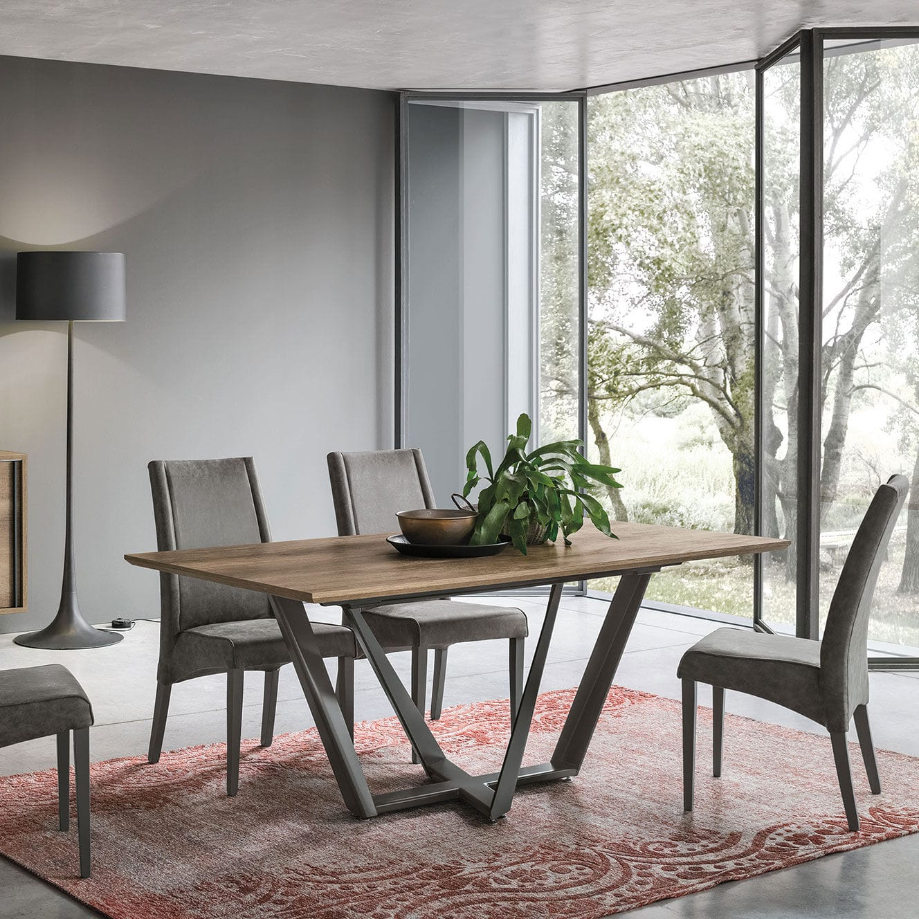 30 Best Collection of Dining Tables With Brushed Stainless ...