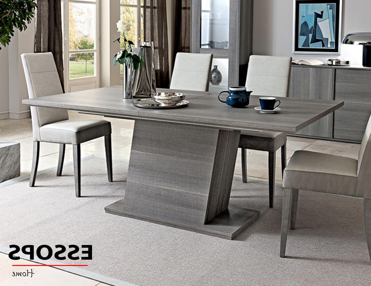 Contemporary Rectangular Dining Tables Inside Recent Futura Extension Dining Table (View 30 of 30)