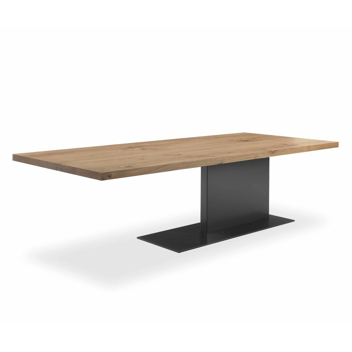 Contemporary Throughout Iron Wood Dining Tables (View 15 of 30)