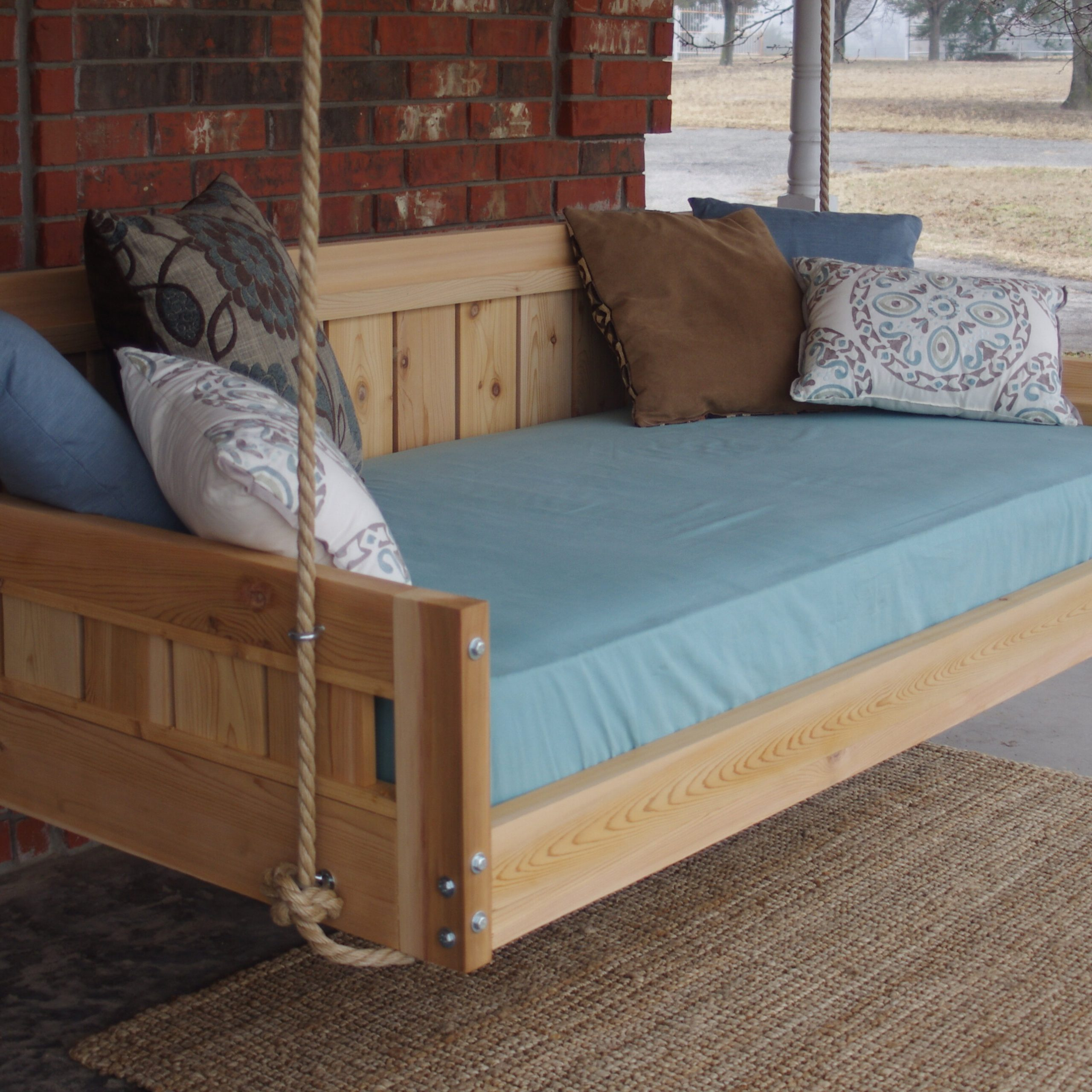 Conyers Hanging Daybed Rope Porch Swing With Regard To Fashionable Hanging Daybed Rope Porch Swings (Gallery 9 of 30)