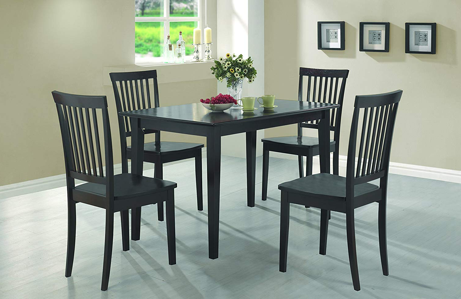 Featured Photo of Cappuccino Finish Wood Classic Casual Dining Tables