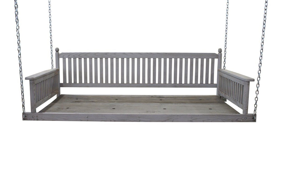 Current Daybed Porch Swings With Stand Within Cano Day Bed Porch Swing (View 30 of 30)