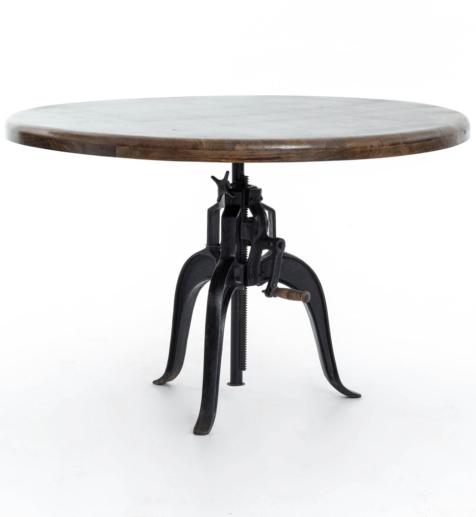 Current Morris Round Dining Tables Intended For Lamps: Brendlen + Morris – Irondale Palm Ecru Berkley (Gallery 27 of 30)