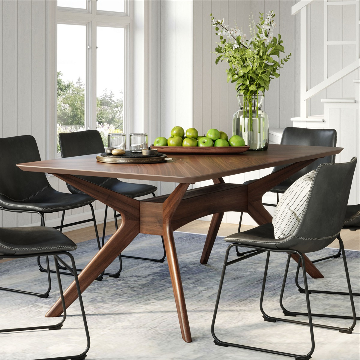 Current Sigrid Rectangular Dining Table For Rectangular Dining Tables (View 3 of 30)