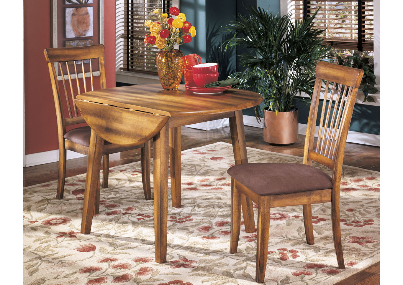 Current Transitional Drop Leaf Casual Dining Tables Within Furniture Palace Berringer Round Drop Leaf Table (View 9 of 30)