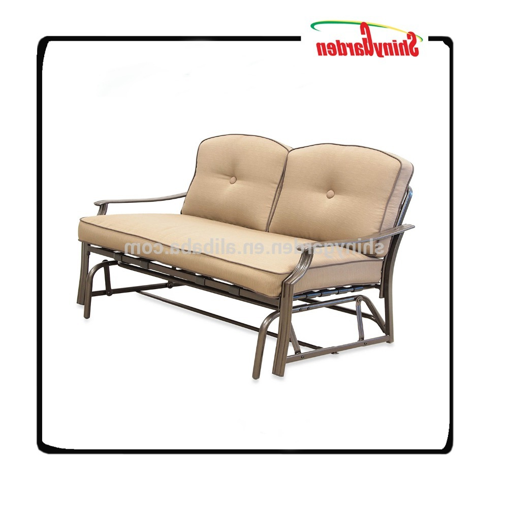 Current Wholesale Price Garden Glider Rocking Loveseat Double Swing Chair – Buy Garden Glider Rocking Loveseat Double Swing Chair,wholesale Price Glider With Regard To Double Glider Loveseats (View 11 of 30)