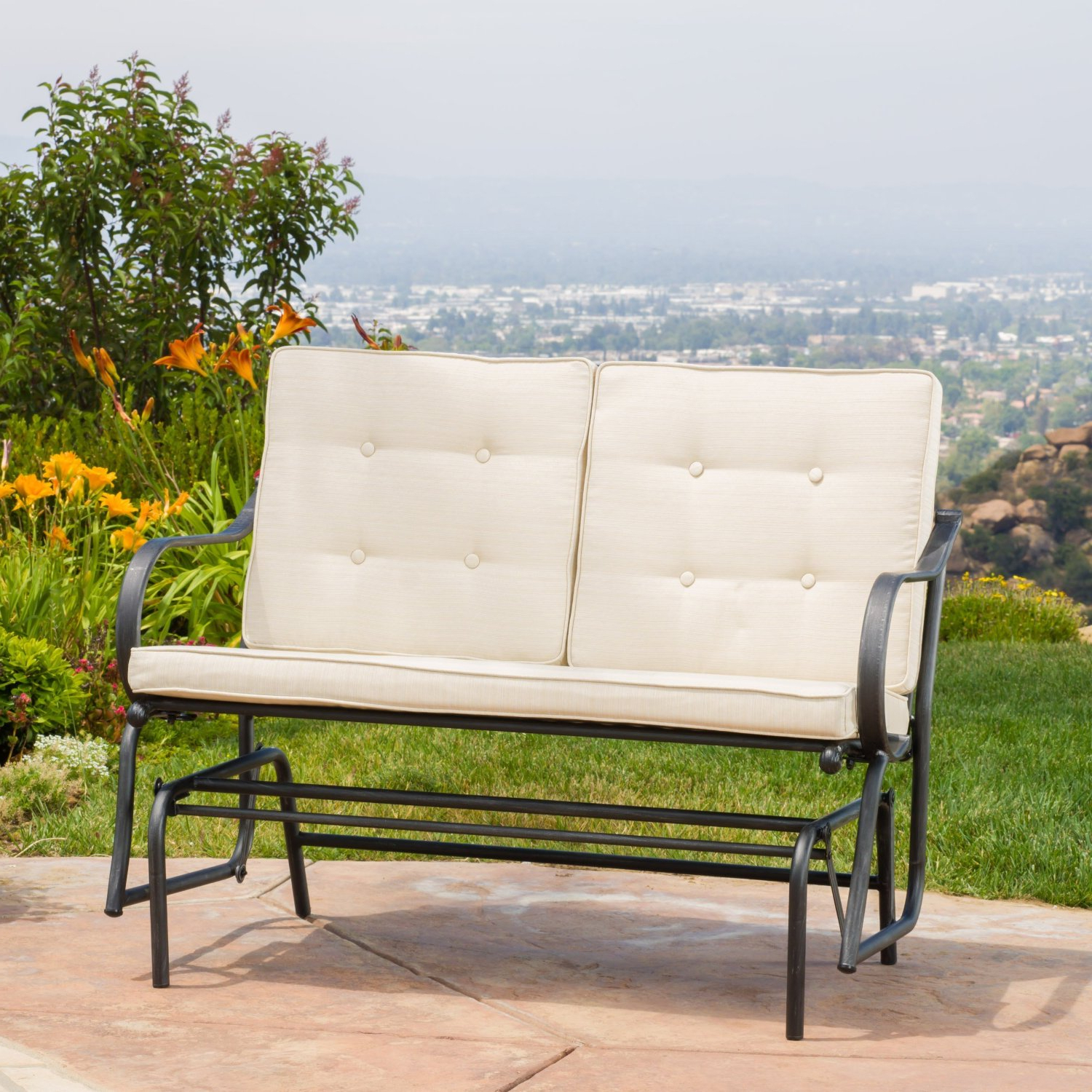 Cushioned Glider Benches With Cushions Intended For 2020 Cheap Outdoor Glider Rocker, Find Outdoor Glider Rocker (Gallery 19 of 30)
