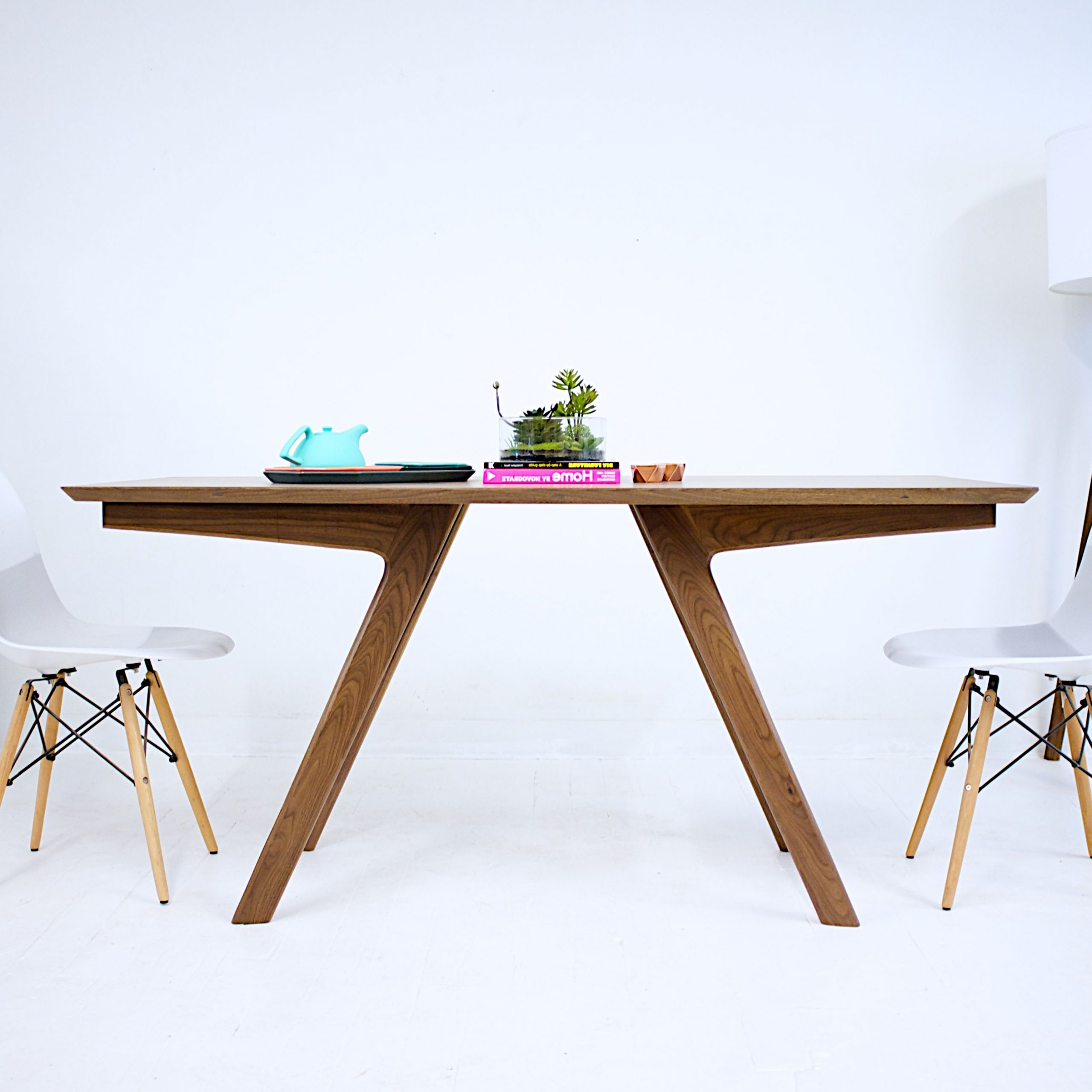 Custommade Within Mid Century Rectangular Top Dining Tables With Wood Legs (View 7 of 30)