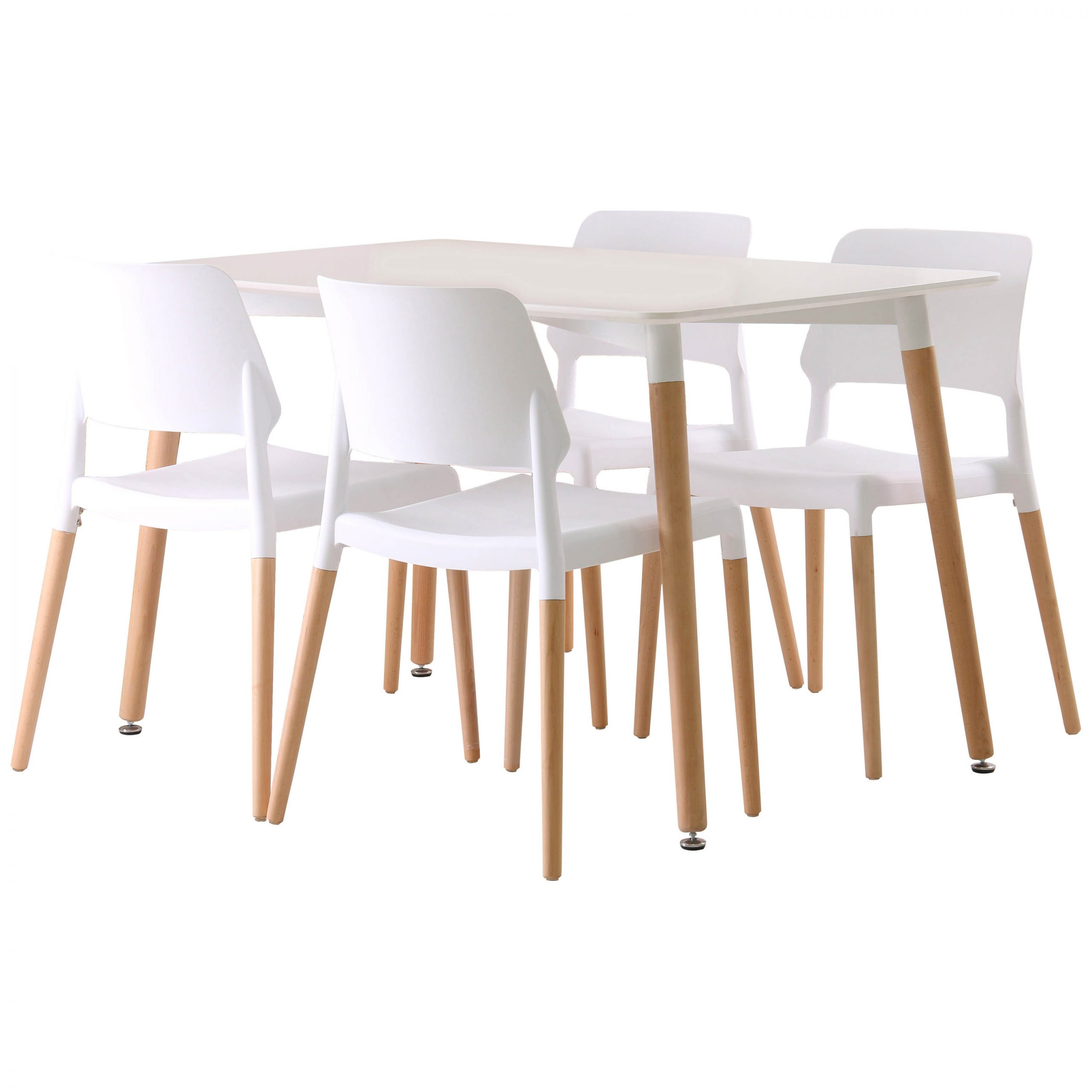 Details About Rectangle Dining Table And Chair Set With 4 Seats (View 21 of 30)
