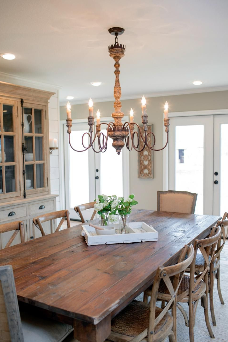 Featured Photo of Large Rustic Look Dining Tables