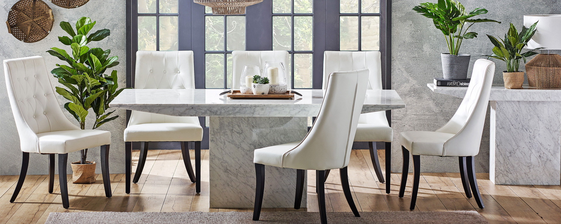 Dining Room Goals: 5 Trending Concrete And Stone Dining For Preferred Medium Elegant Dining Tables (View 22 of 30)