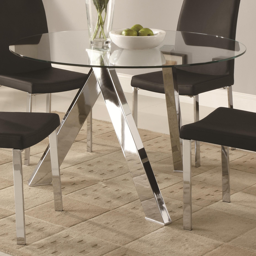 Dining Table Bases For Glass Tops (View 27 of 30)