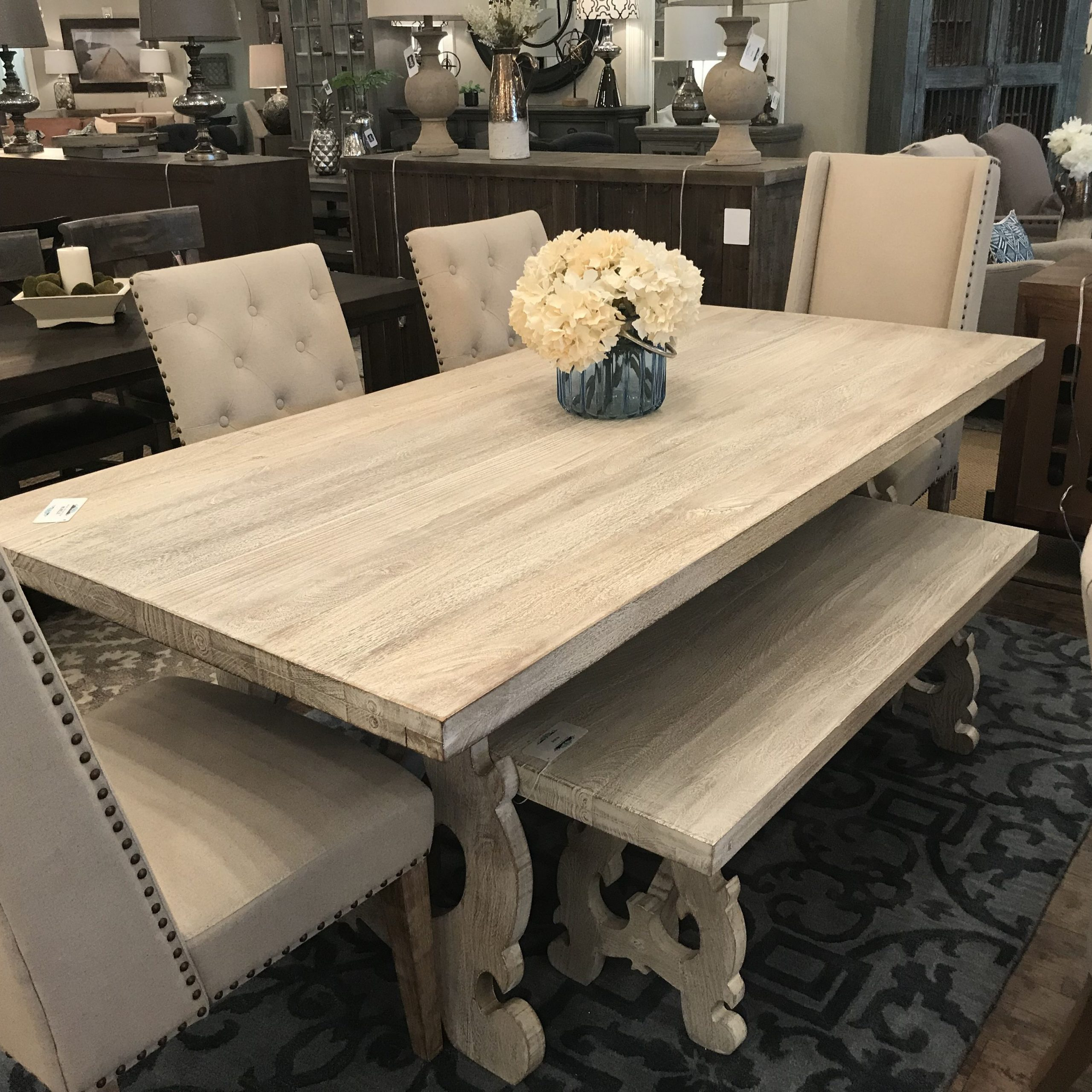Dining Table With Regard To Fashionable Transitional Driftwood Casual Dining Tables (View 6 of 30)