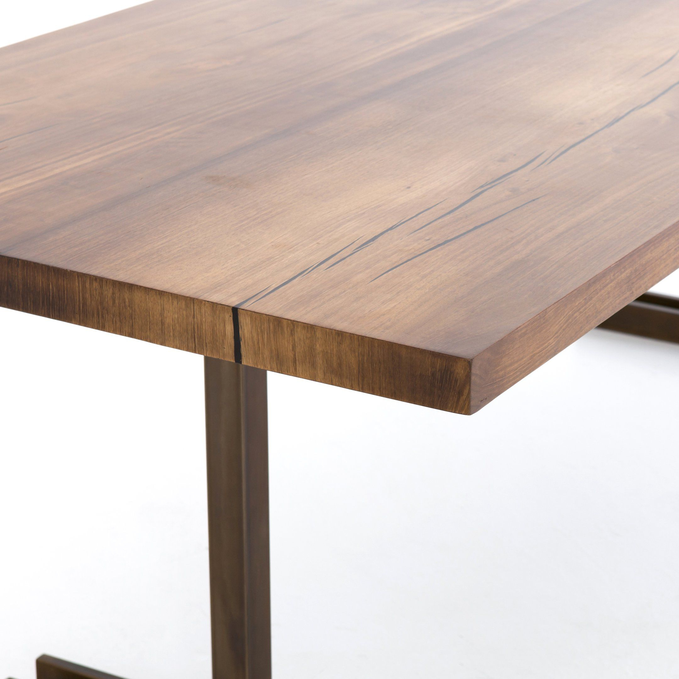 Dining Tables In Smoked Seared Oak For Famous Michigan Dining Table (View 30 of 30)