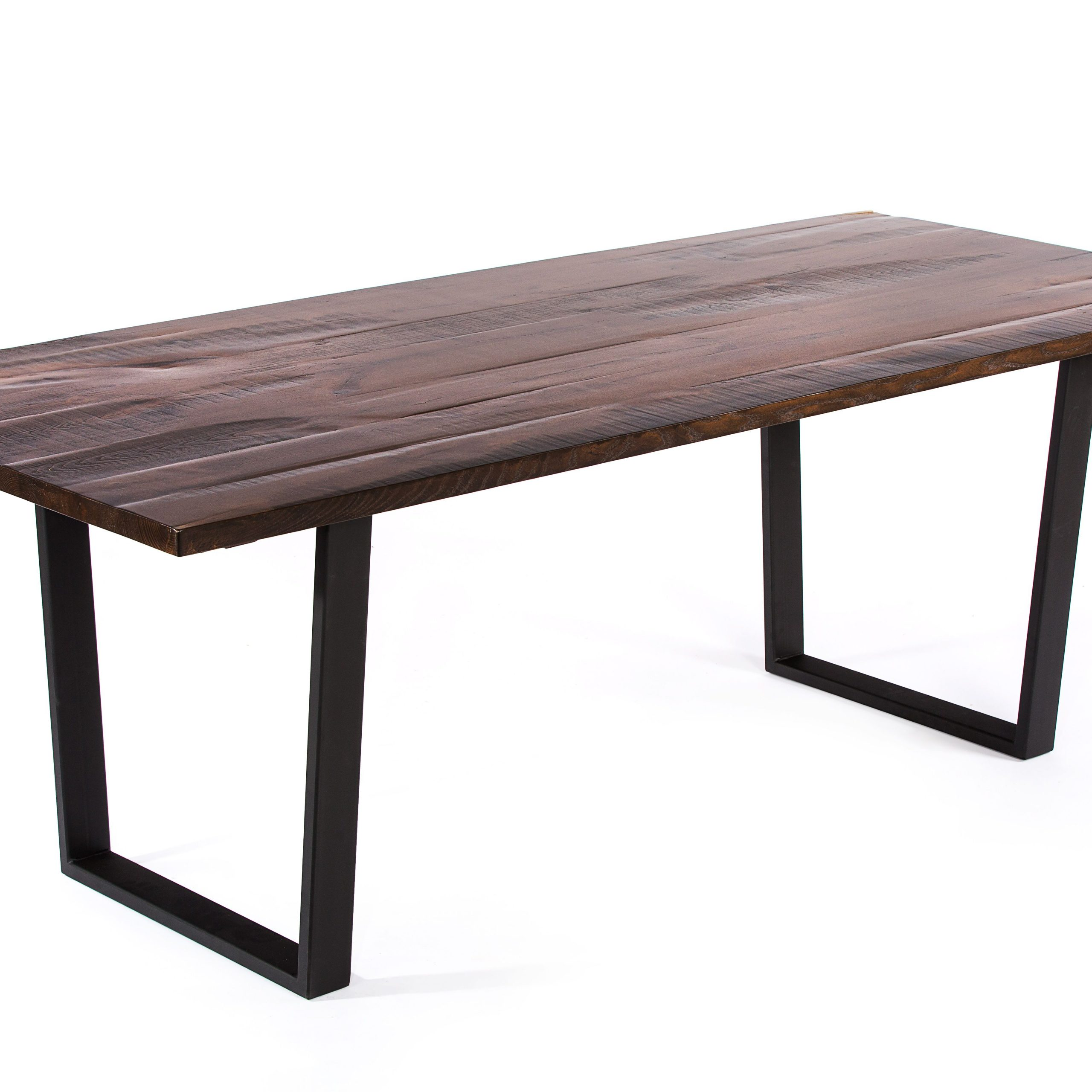 Dining Tables With Stained Ash Walnut With Regard To 2017 Buy A Handmade The Trenton Reclaimed Wood Dining Table (View 13 of 30)