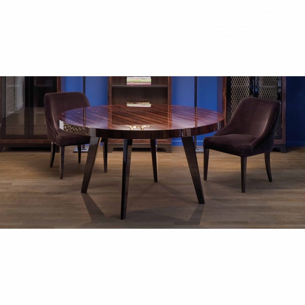 Dom Edizioni Harry Round Dining Table For Famous Dom Round Dining Tables (View 22 of 30)