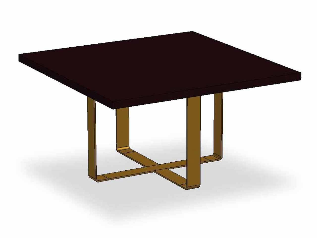Dom Edizioni Wood,brass Elliptical,round,square,rectangular With Most Recent Dom Square Dining Tables (View 9 of 30)