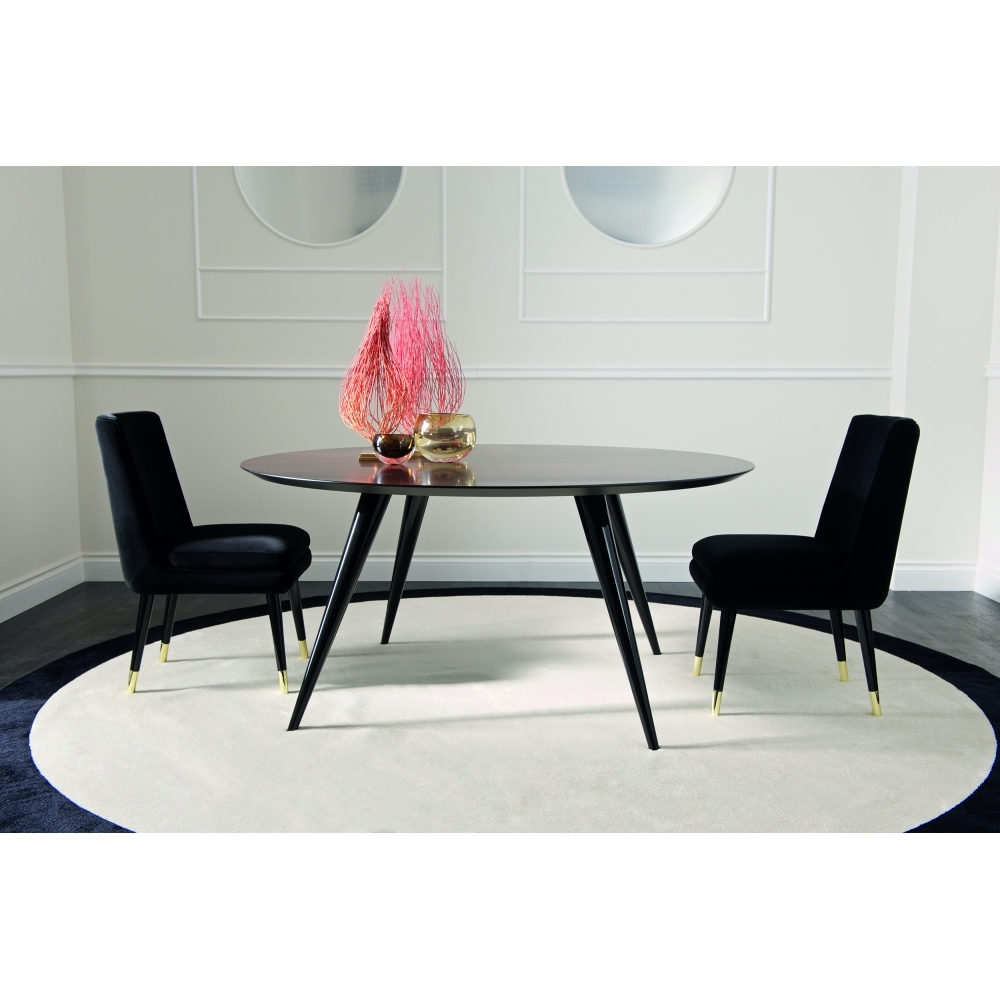 Dom Round Dining Tables In Most Recent Dom Edizioni Rocco Round Dining Table (View 5 of 30)