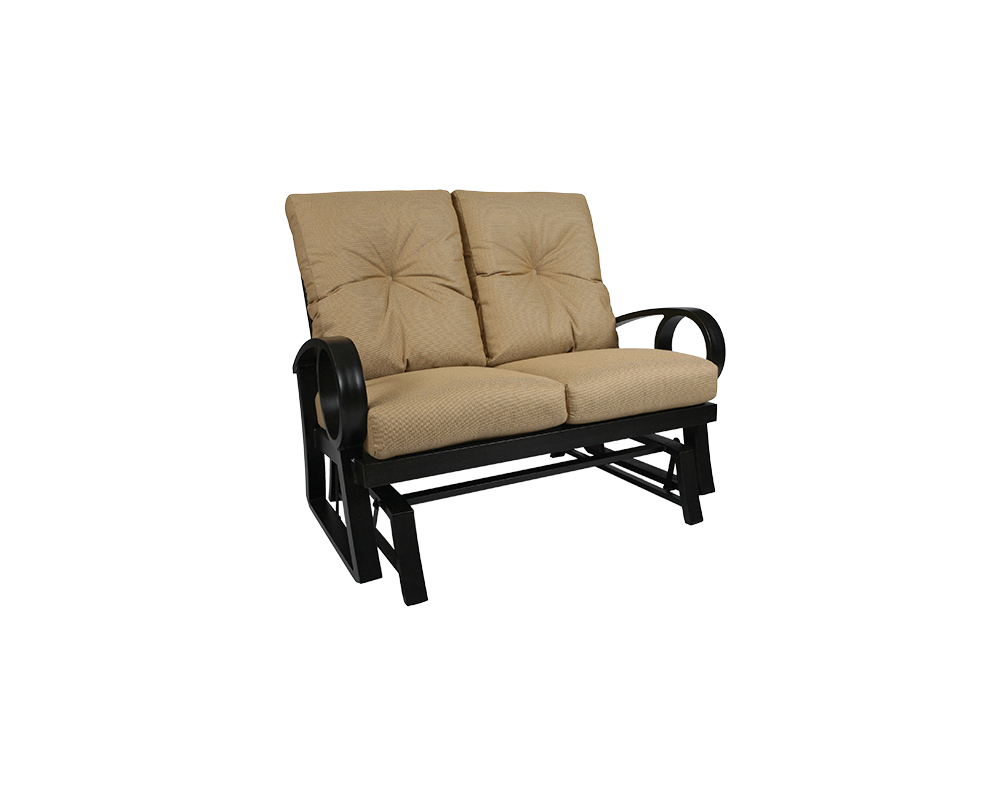 Eclipse Loveseat Glider – Green Acres Outdoor Living Within Recent Outdoor Loveseat Gliders With Cushion (View 28 of 30)