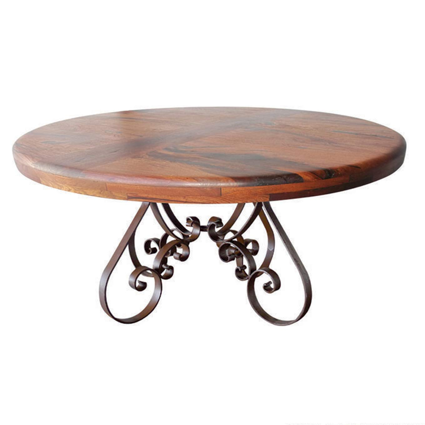 Elegance Large Round Dining Tables Regarding 2017 Amazon – Stunning Dining Table Made Of Elegant Wrought (View 26 of 30)