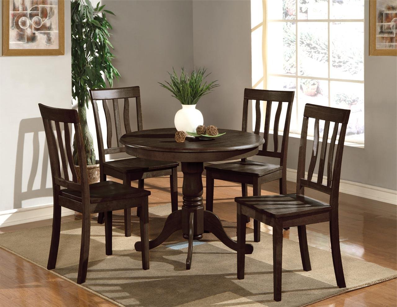 Elegance Small Round Dining Tables In Most Recently Released Kitchen Round Table Sets Amazing Elegant Small And Chairs (View 29 of 30)