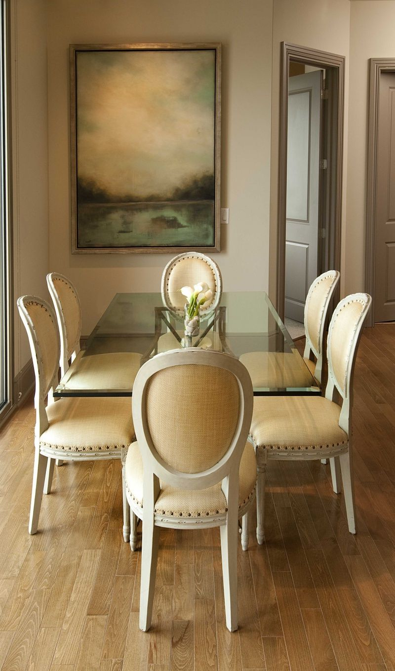 Elegance Small Round Dining Tables Inside Widely Used Simple And Elegant Dining Room (View 4 of 30)