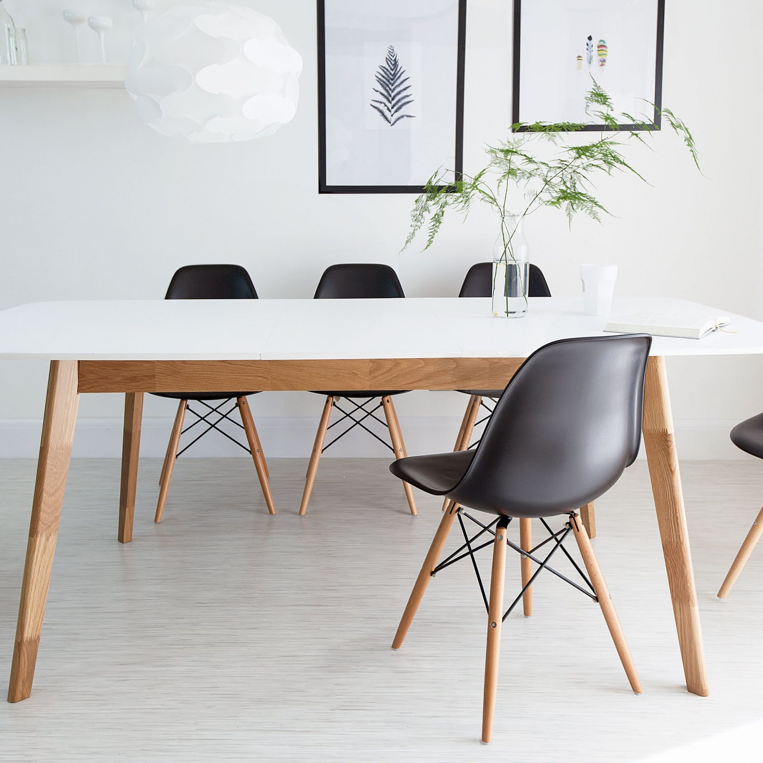 Elegant Eames Style Dining Table – Creative Design Ideas In Preferred Eames Style Dining Tables With Wooden Legs (View 14 of 30)