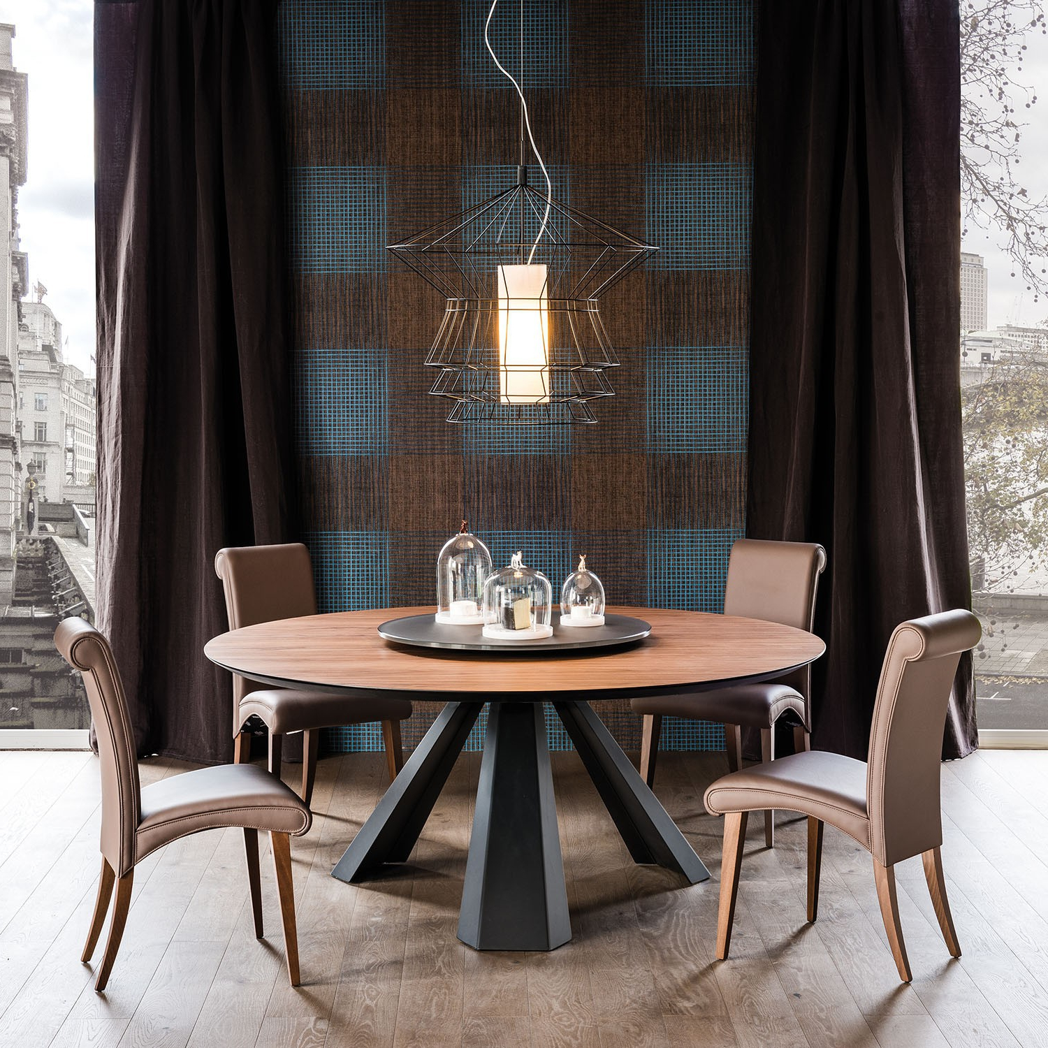 Eliot Round Dining Table, Cattelan Italia – Neo Furniture Intended For Popular Neo Round Dining Tables (View 28 of 30)