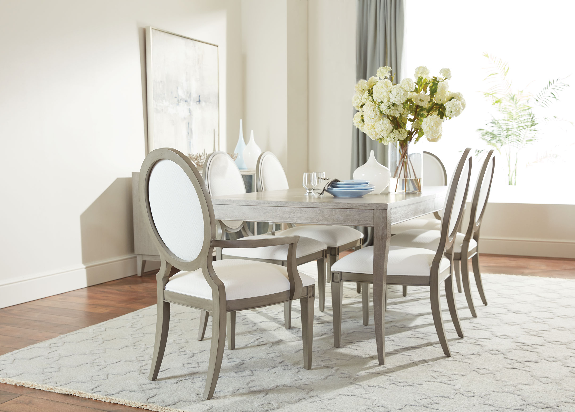 Ethan Allen Within Artefac Contemporary Casual Dining Tables (View 17 of 30)